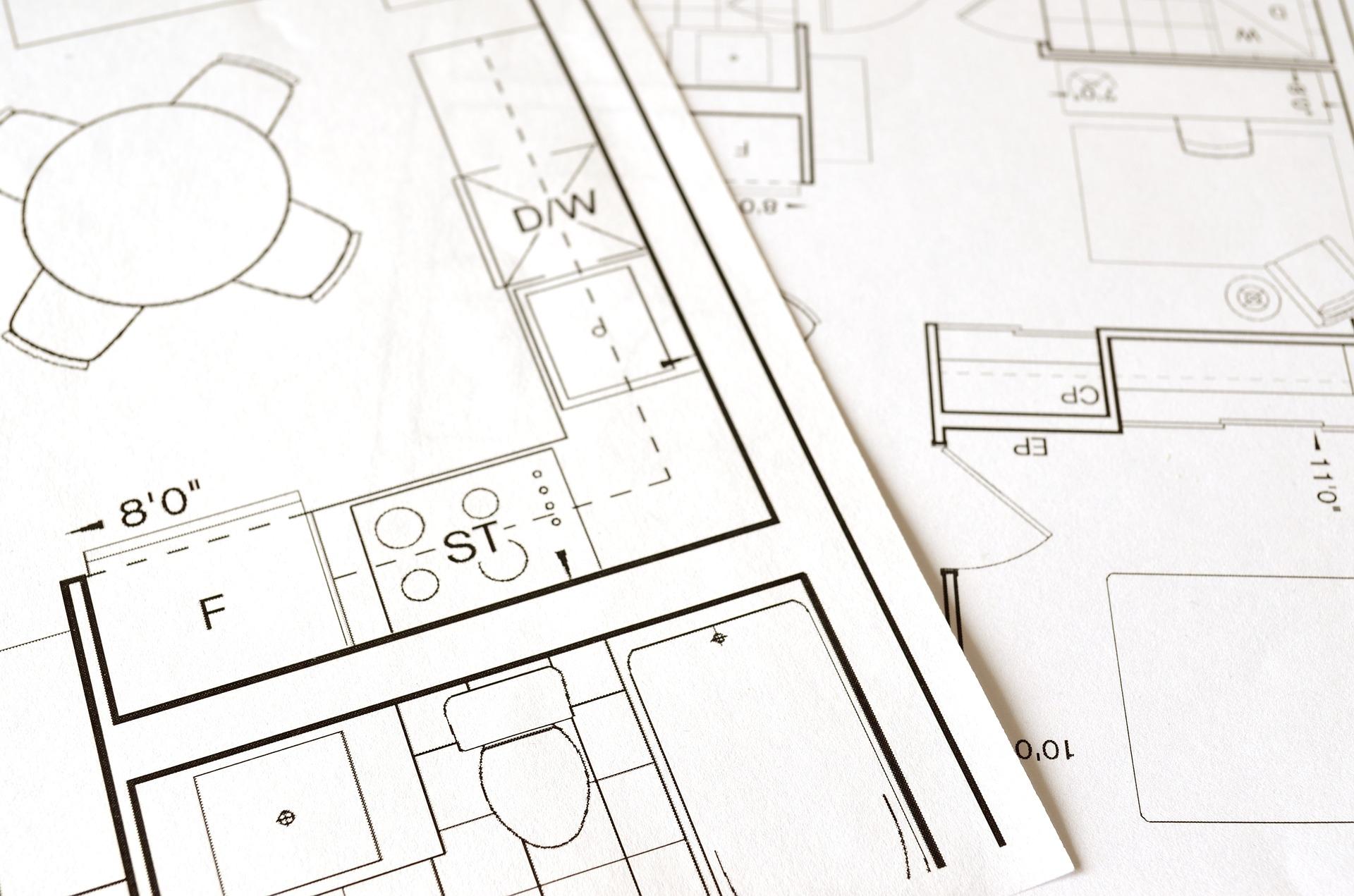 image of a house blueprint