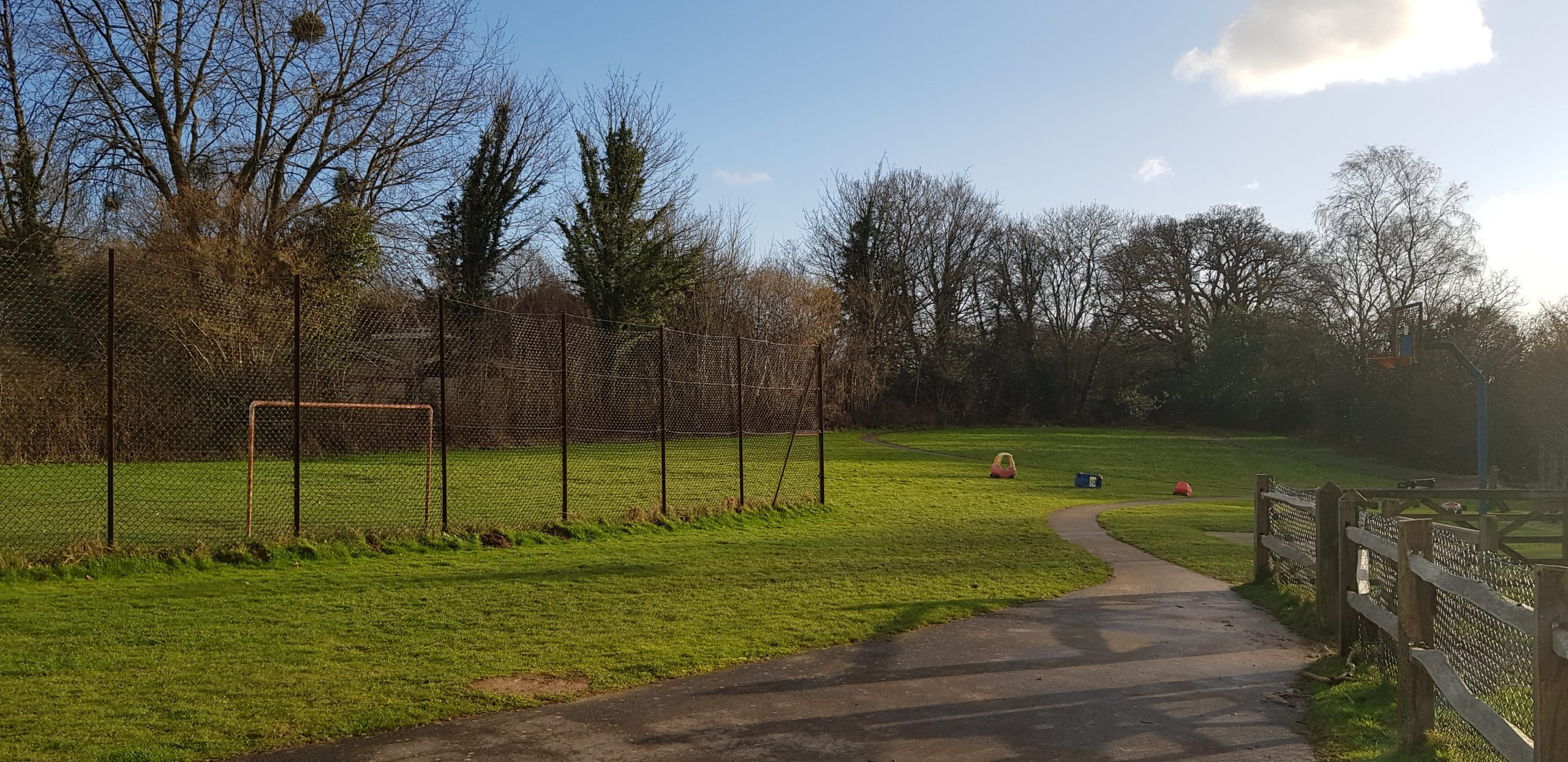 photograph of hurst green children's park